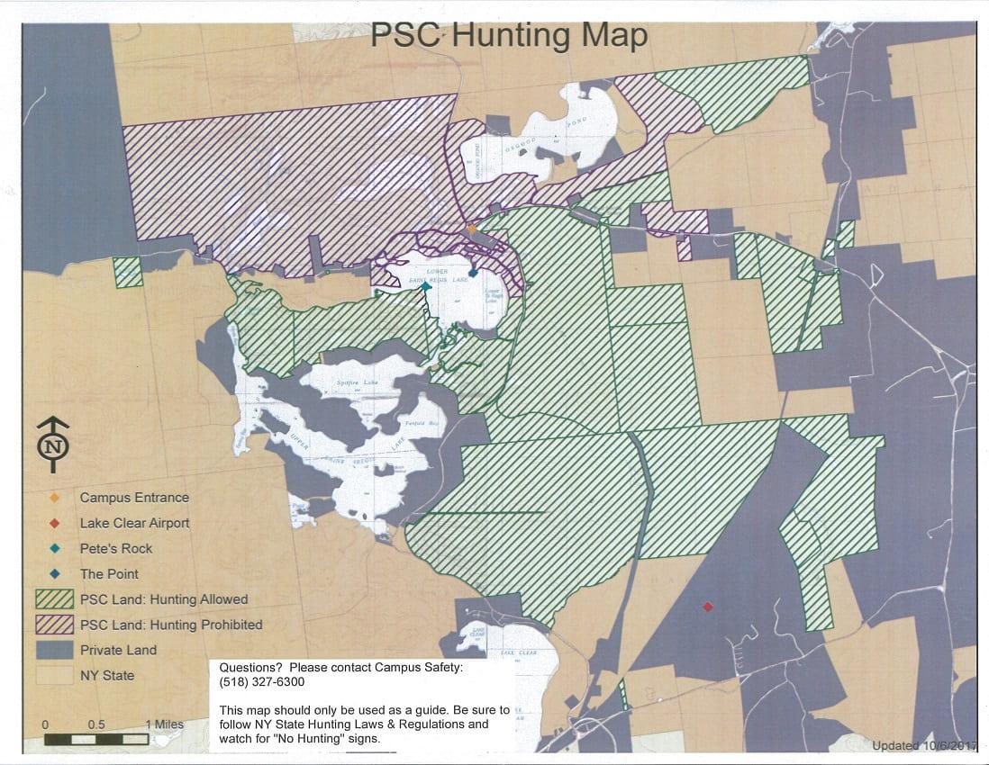 Fall 2016 Hunting Map