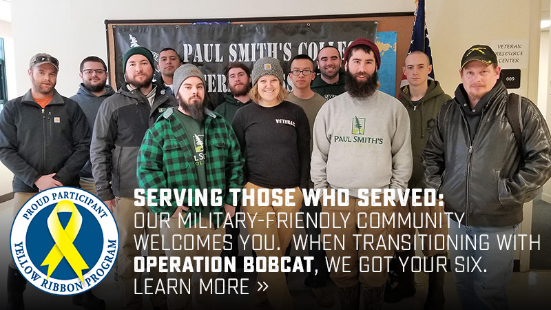 Serving those who served: Our military-friendly community welcomes you. When transitioning with Operation Bobcat, we got your six. Learn more »