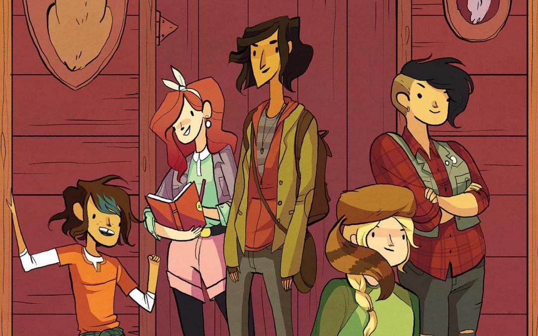 Comics, Classes, and Lumberjanes