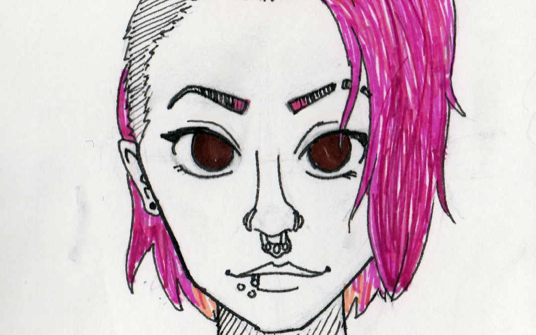 Past the Pink Hair and Piercings: A Passionate Protector of Peace