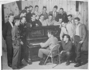 Student veterans in 1954
