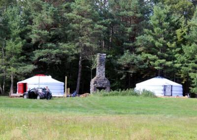 Student Yurts